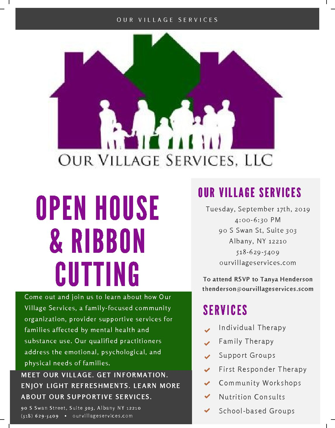 Open House & Ribbon Cutting